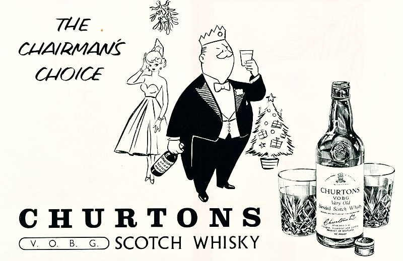 Churtons V.O.B.G. Scotch Whisky