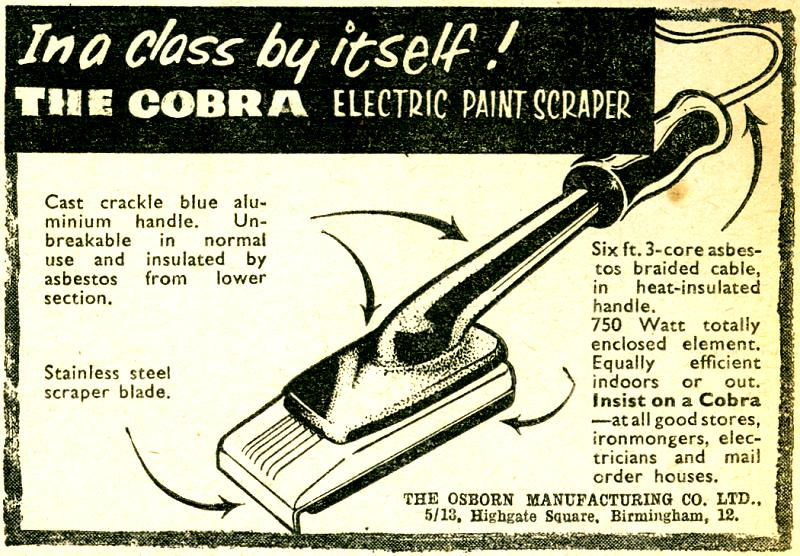 Cobra Electric Paint Scraper