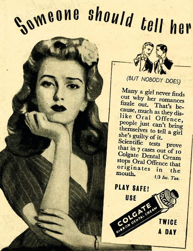 Image result for 1950s toothpaste uk
