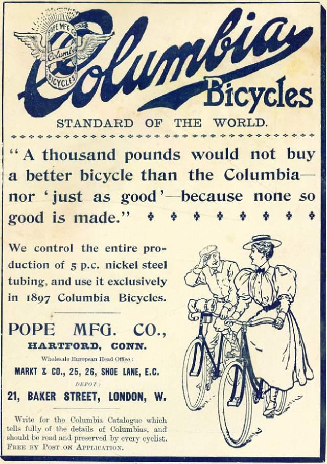 Columbia Bicycles