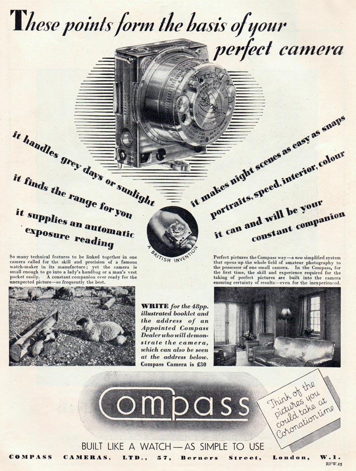 Compass Cameras, Ltd.