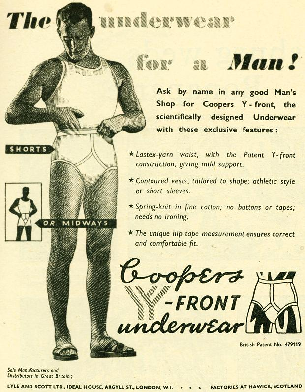 Coopers Y-Front Underwear