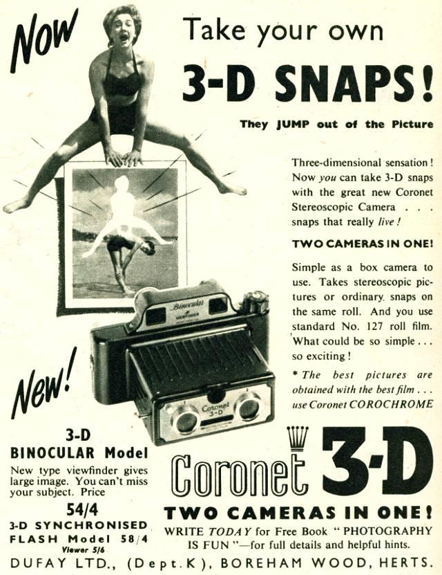 Coronet Stereoscopic Camera
