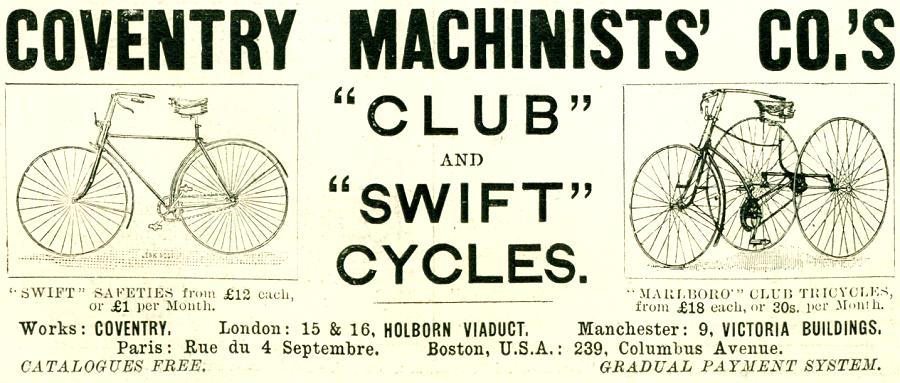 Coventry Machinists' Co.'s Cycles