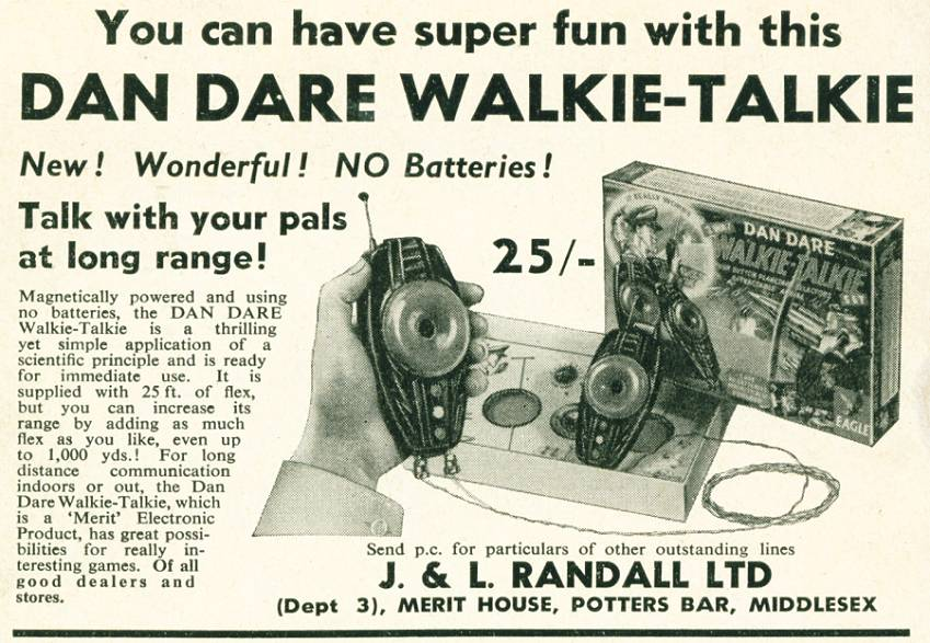 Dan Dare Walkie-Talkie