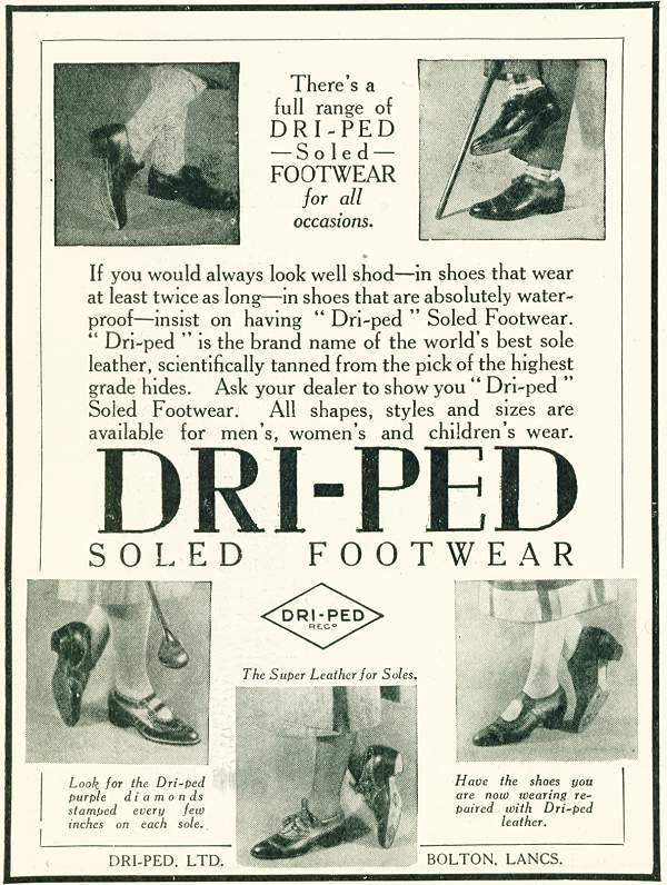 Dri-Ped Soled Footwear