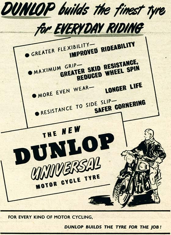 Dunlop Motor Cycle Tyre