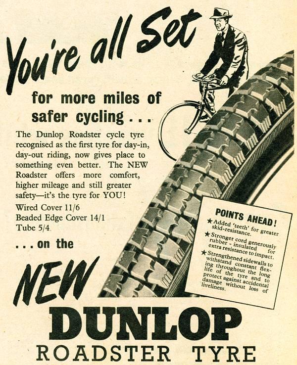 Dunlop Roadster Tyre