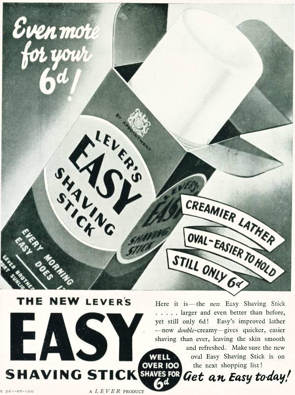 Easy Shaving Stick