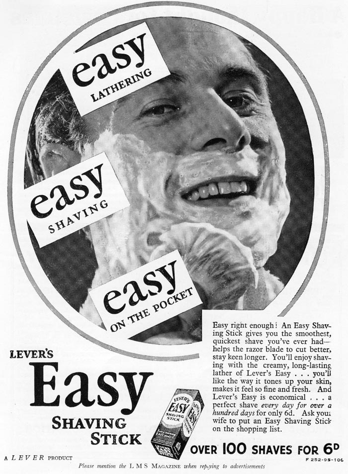 Easy Shaving Stick
