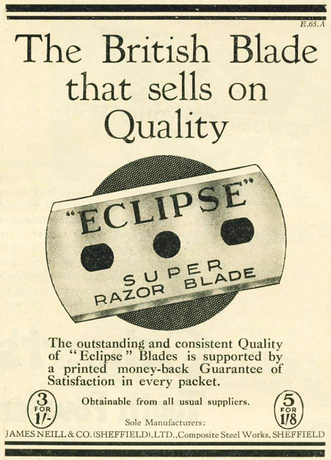 Eclipse Super Razor Blade