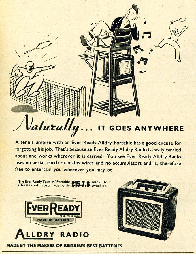 Ever Ready Alldry Radio