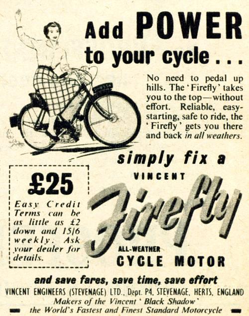 Firefly Cycle Motor