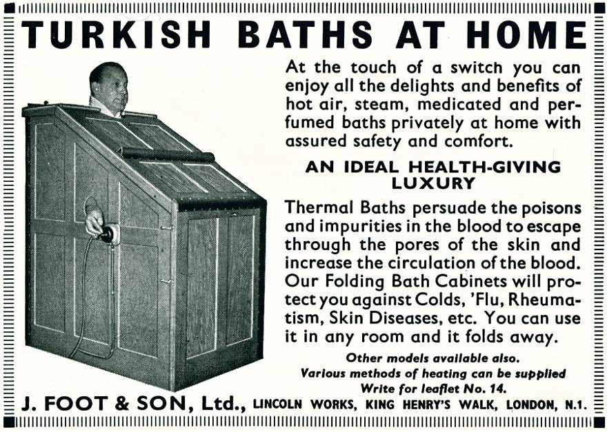 Turkish Baths at Home