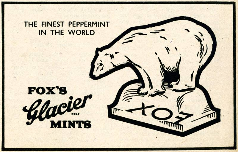 Fox's Glacier Mints bear