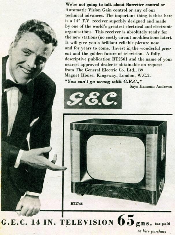 G.E.C. Television