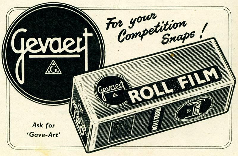 Gevaert Roll Film