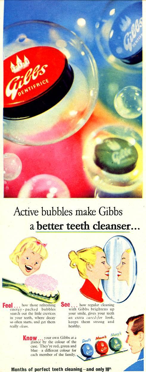Gibbs Dentifrice