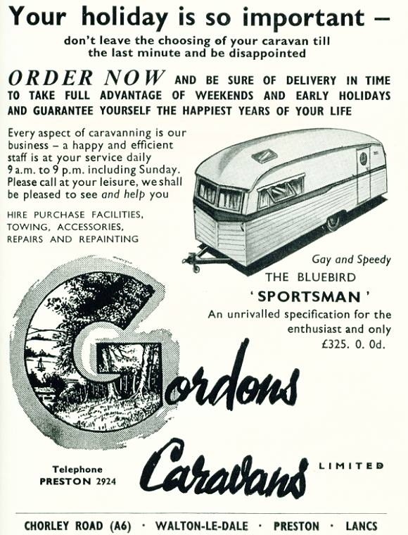Gordon's Caravans
