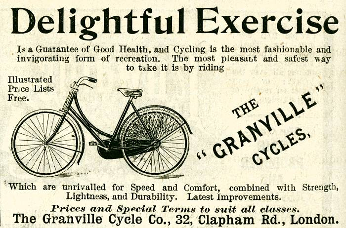 The 'Granville' Cycles