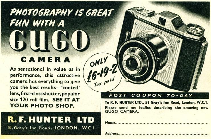 R. F. Hunter - Gugo Camera
