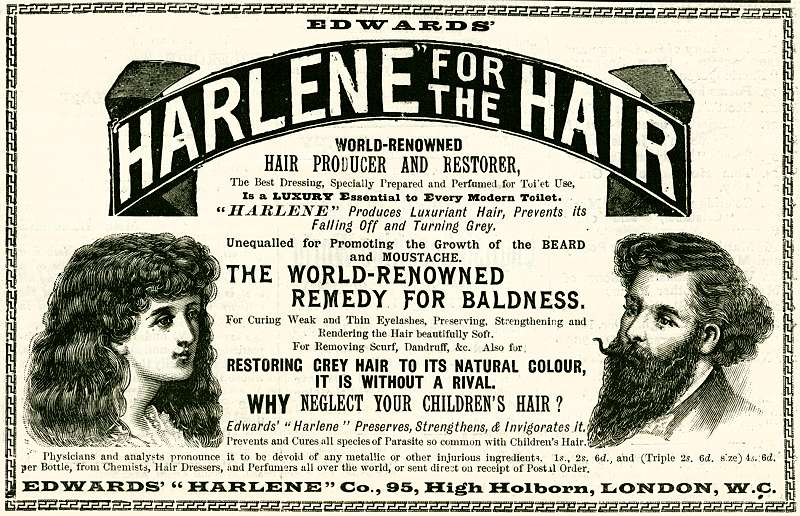 Harlene for the Hair
