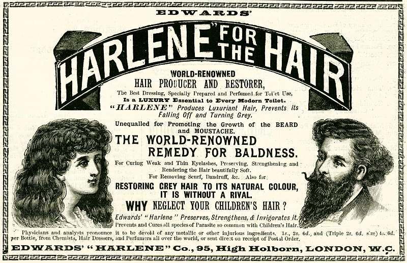 Harlene for the Hair