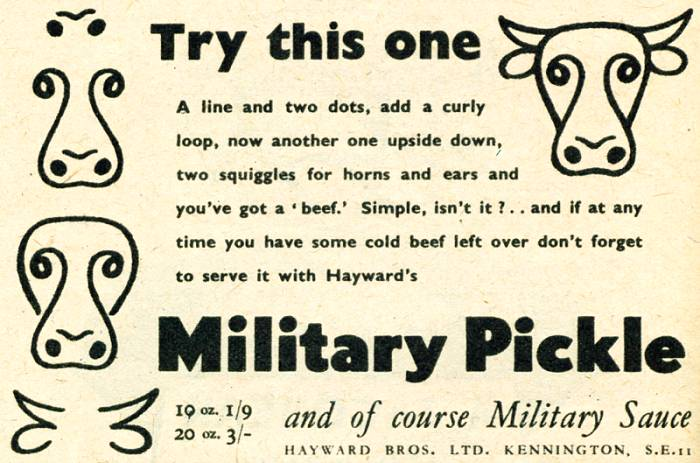 Hayward's Military Pickle
