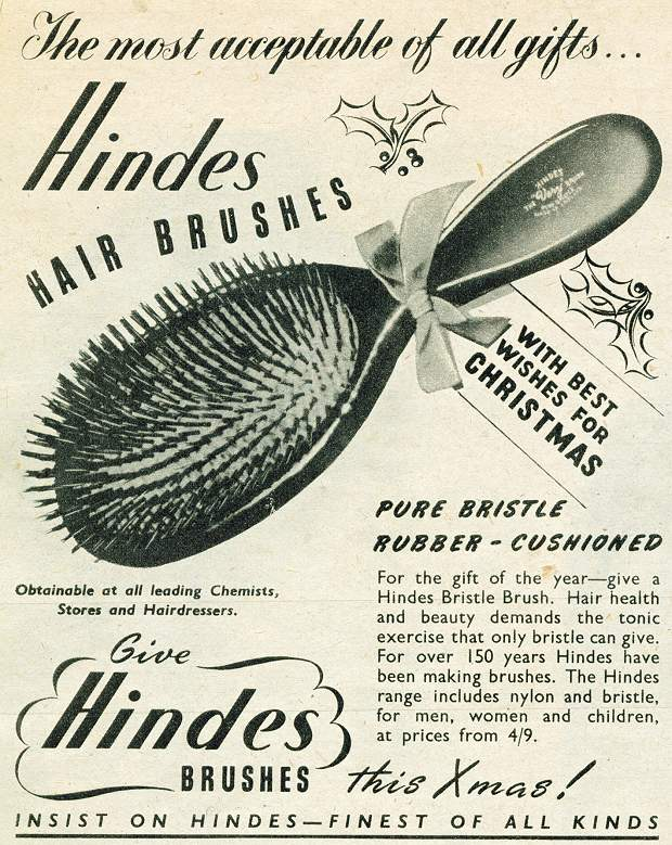 Hinde's Hair Brushes