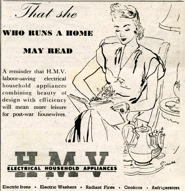H.M.V. Electrical Household Appliances
