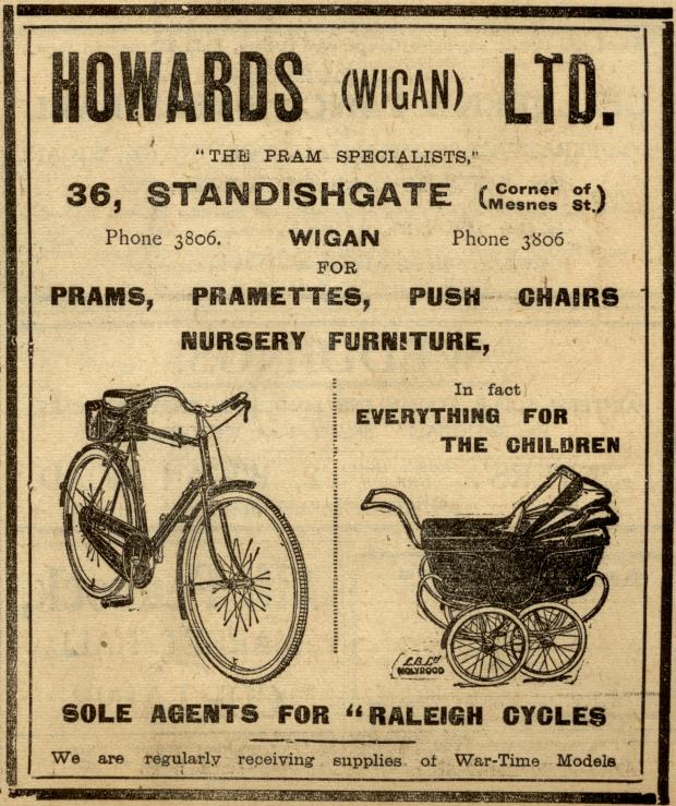 Howards (Wigan) Ltd., The Pram Specialists