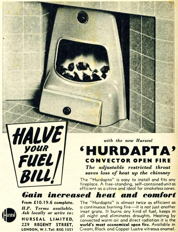 Hurdapta Convector Open Fire