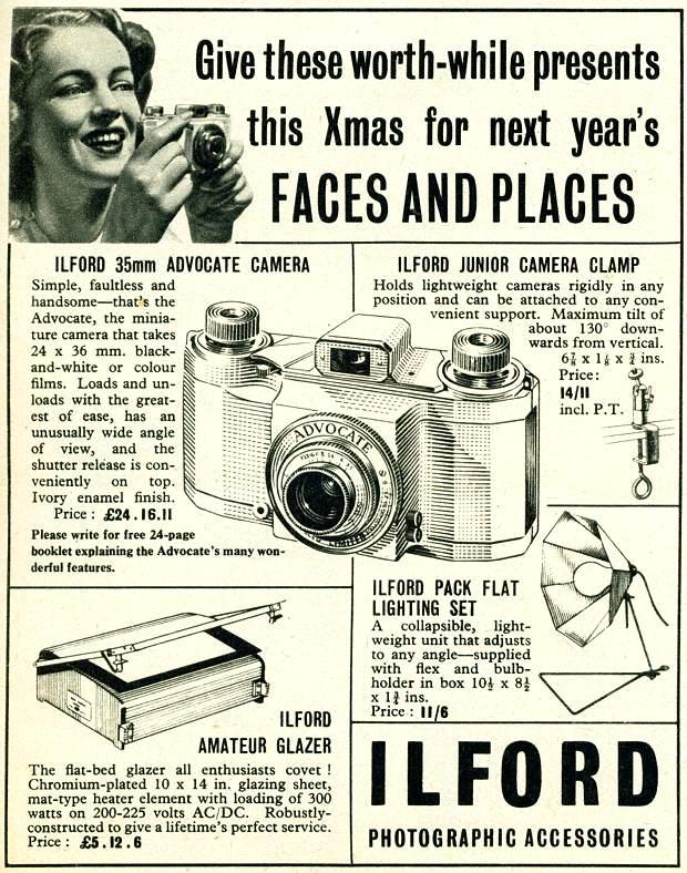 Ilford Photographic Accessories