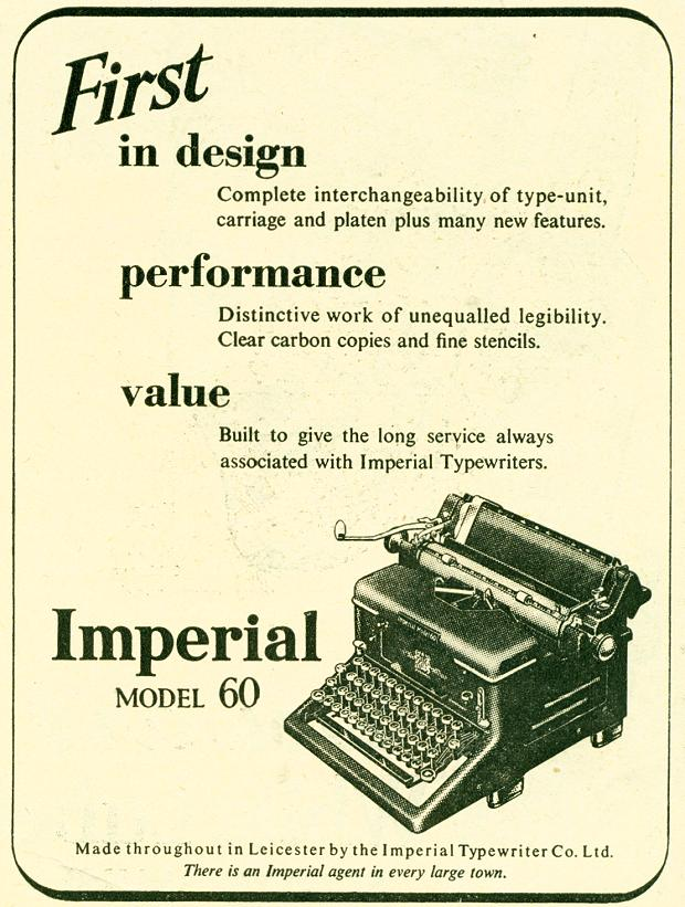 Imperial Typewriter Co. Ltd.