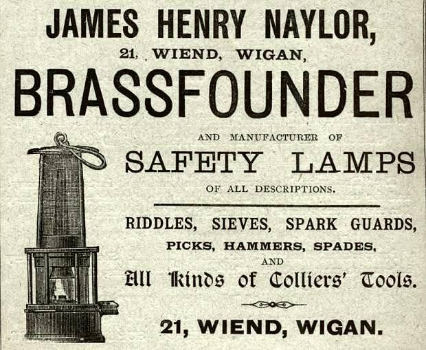 James Henry Naylor, Brassfounder