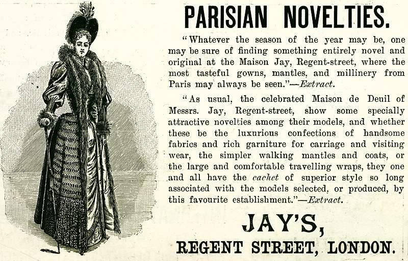Parisian Novelties at Jay's, Regent Street, London