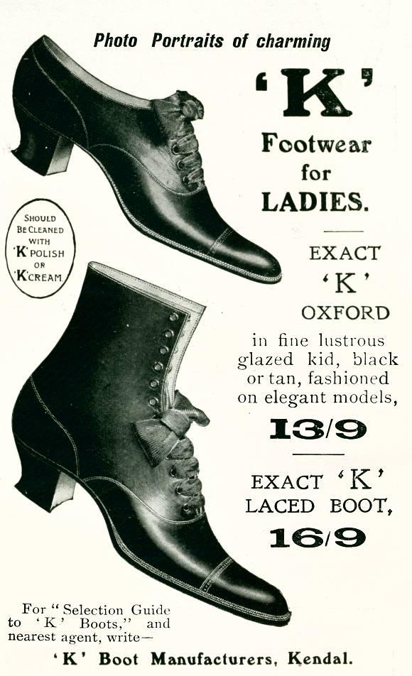 'K' Footwear