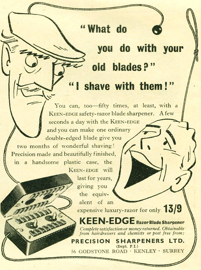 Keen-Edge Razor Blade Sharpener