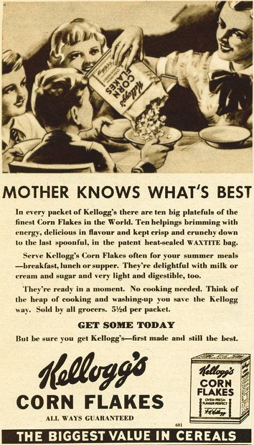 kellogs history The battle creek toasted corn flake company, later to be known as kellog's, was founded on february 19th, 1906.