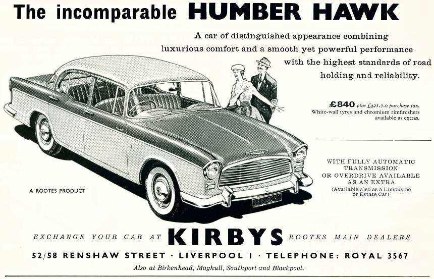 Kirbys - Humber Hawk