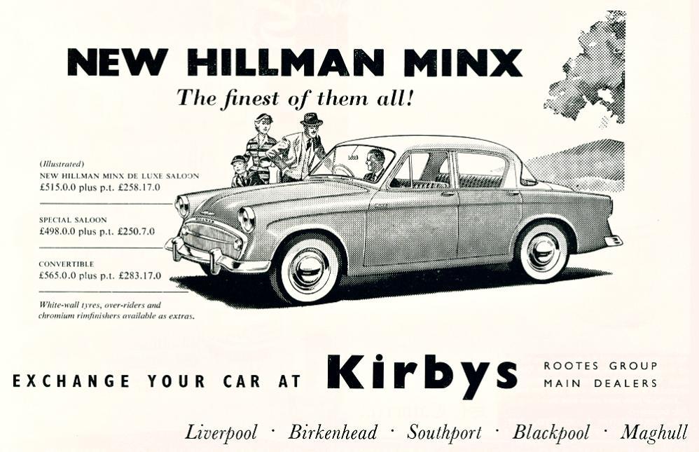 Kirbys - Hillman Minx