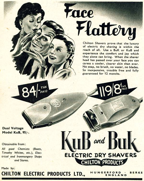 Chilton Shavers - Kub and Buk