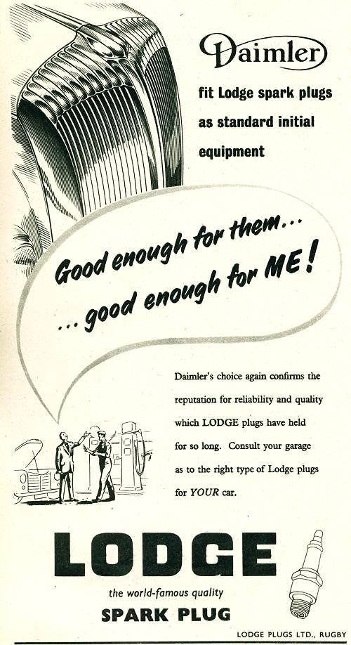 Lodge Spark Plugs