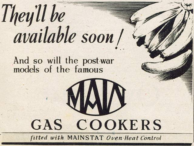Main Gas Cookers
