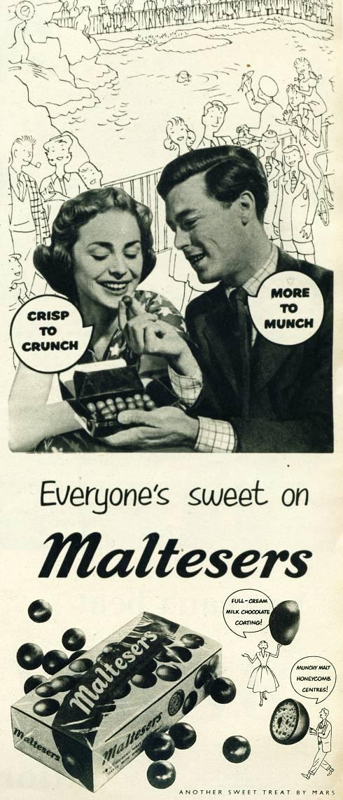 Advert Museum Maltesers