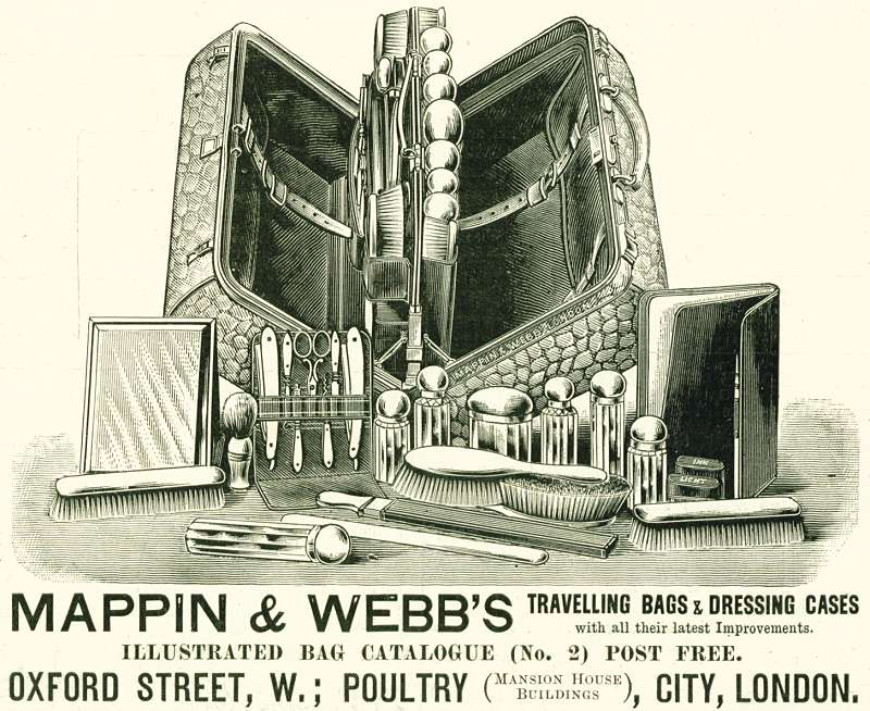 Mappin & Webb's Travelling Bags & Dressing Cases