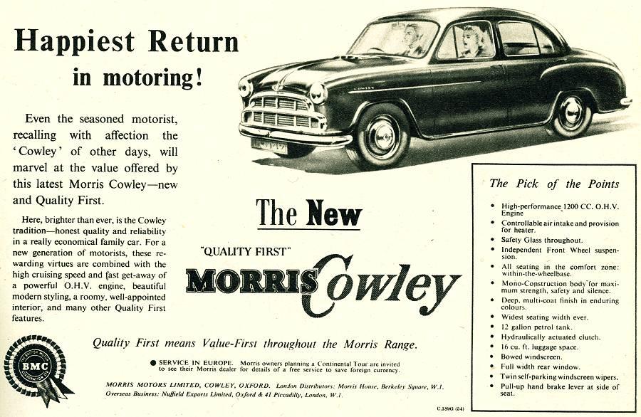 Morris Cowley