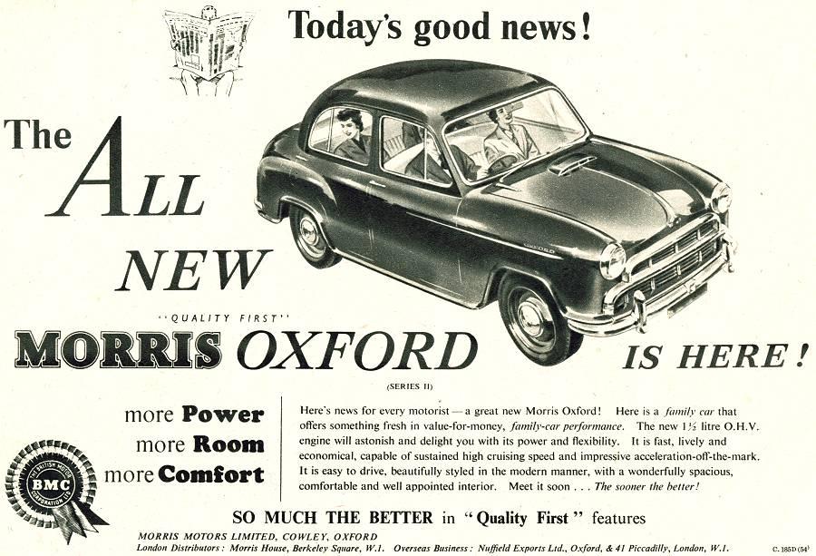 Morris Oxford
