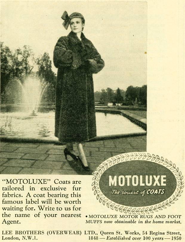Motoluxe Coats