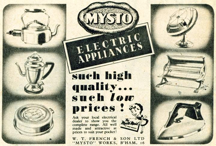 Mysto Electrical Applicances